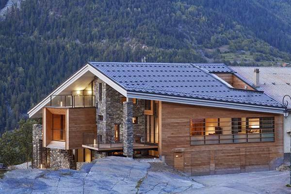 Da evleri decoridea - Casas de madera y piedra prefabricadas ...