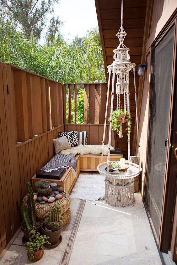 Dar balkon d zenlemeleri decoridea for Decoracion de terrazas pequenas