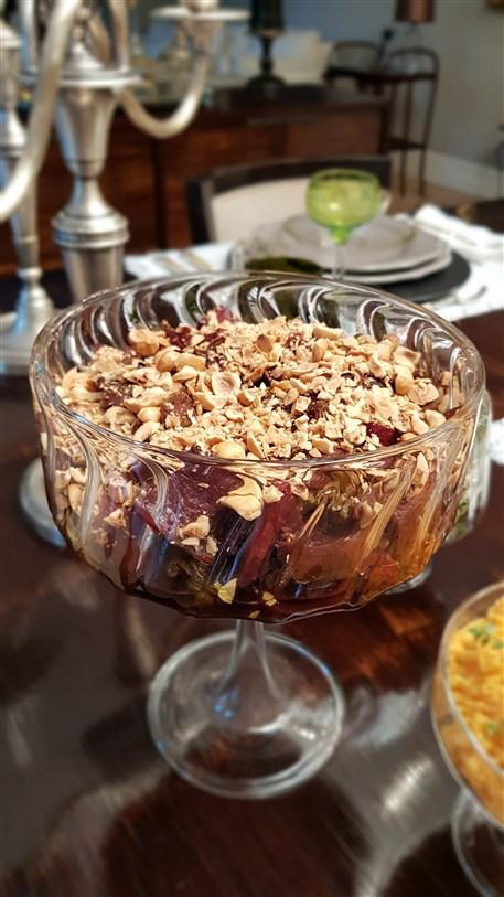 fırında enginar ve rezene salatası selin kutucular