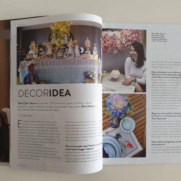 Decoridea Röportajı All Decor Yaz Sayısında
