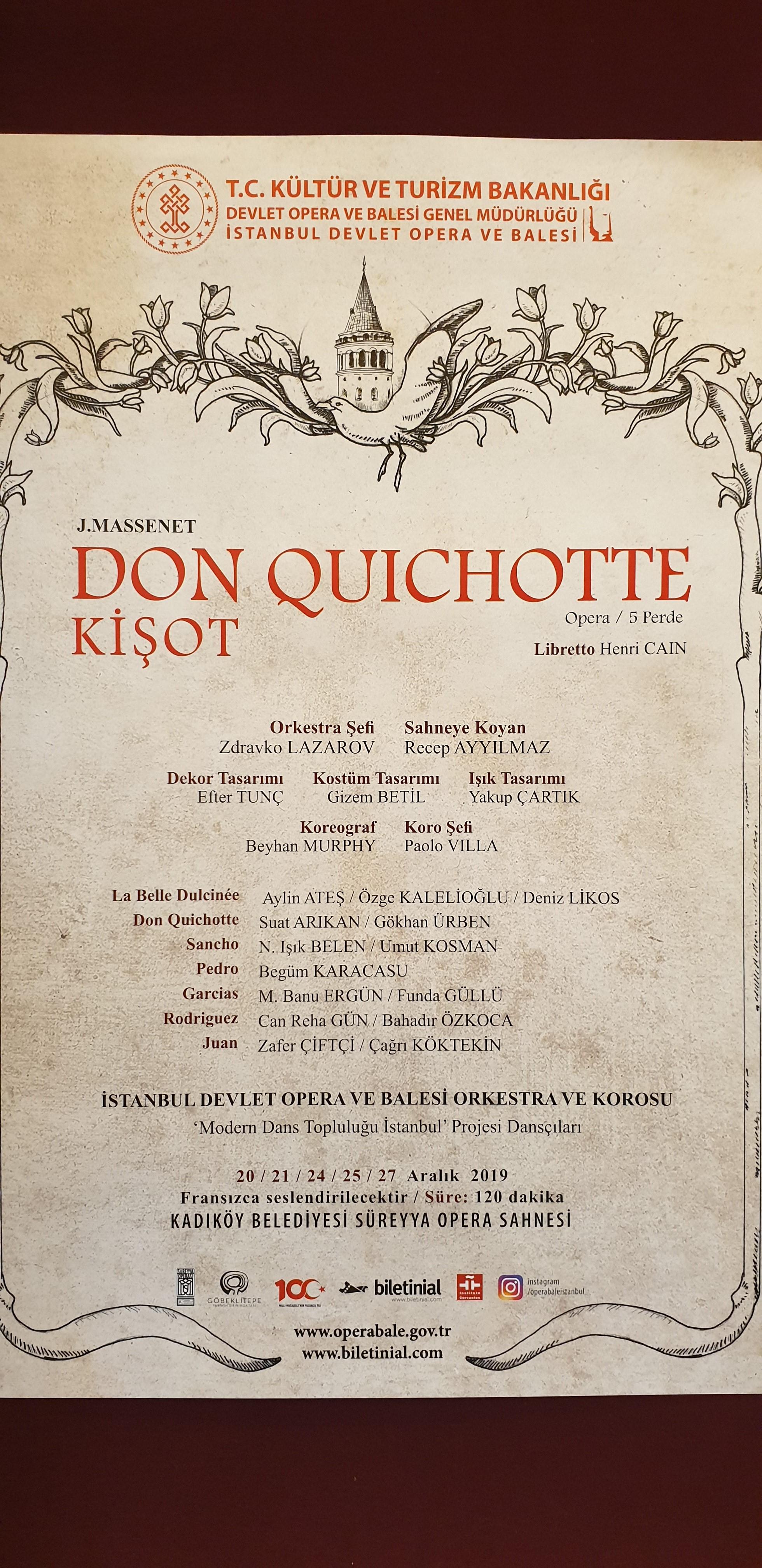 don kişot operası