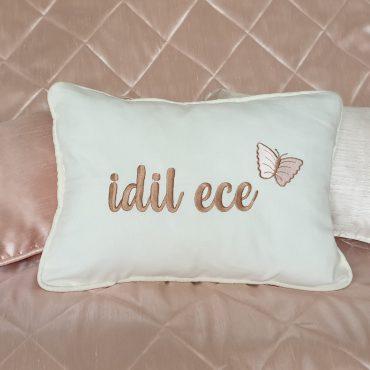 İdil Ece Nakışlı Yastık ve Yatak Örtüsü