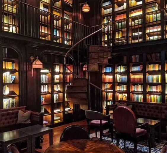 kütüphane cafe