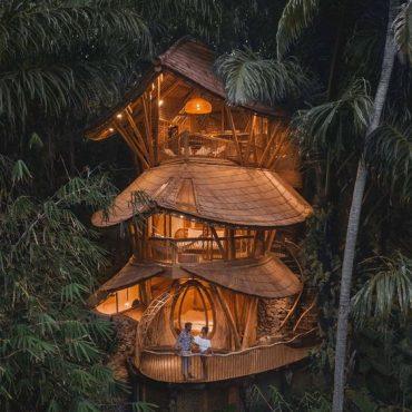 Doğayla Bütünleşmenin En Etkili Yolu Ağaç Evler