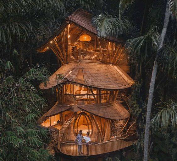 ağaç ev