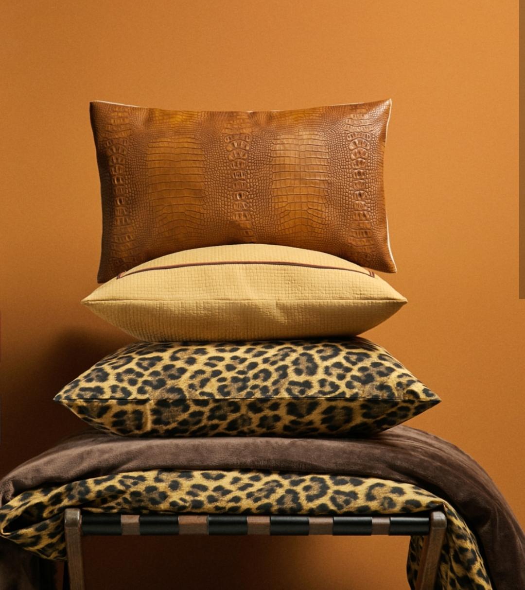 leopar yastık