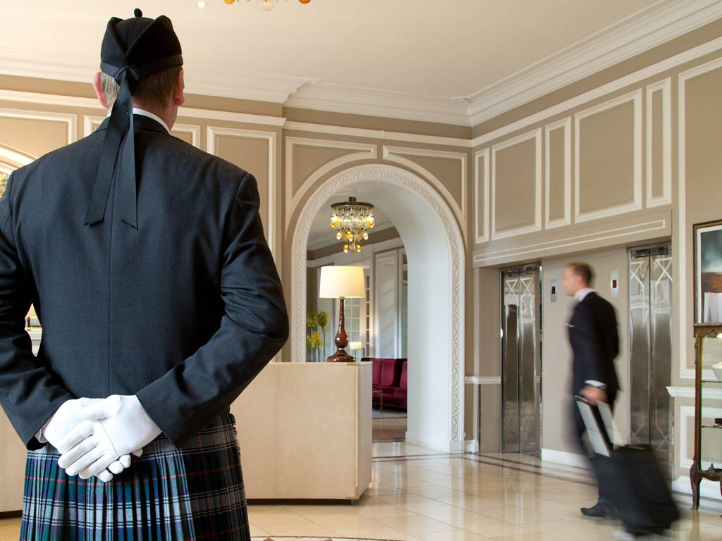 WA Edinburgh - The Caledonian - Lobby - 952290