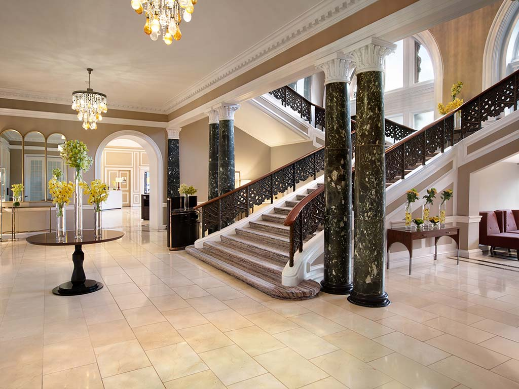 WA Edinburgh - The Caledonian - Lobby - Staircase - 952552